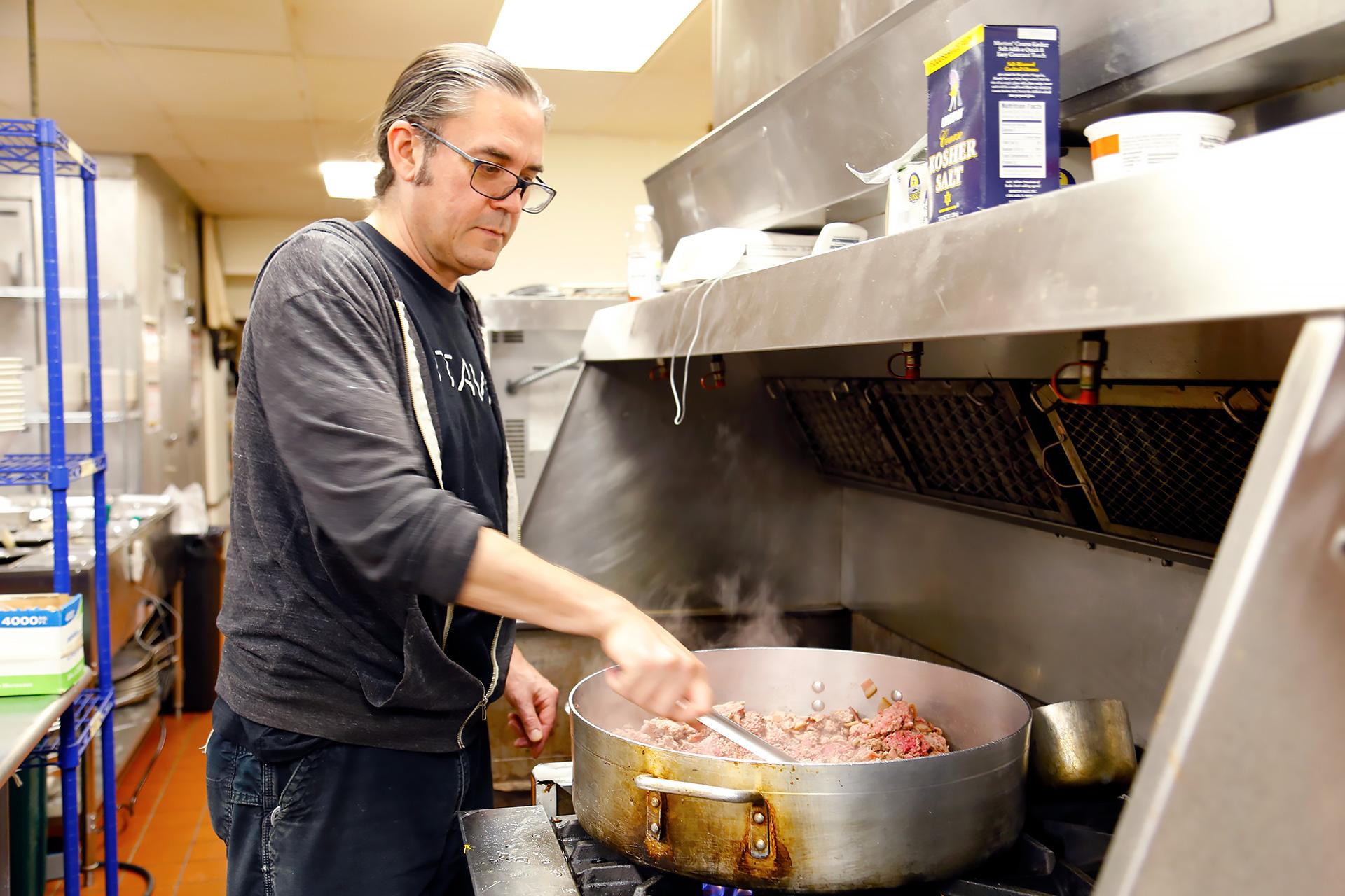 Chef Todd Preston.