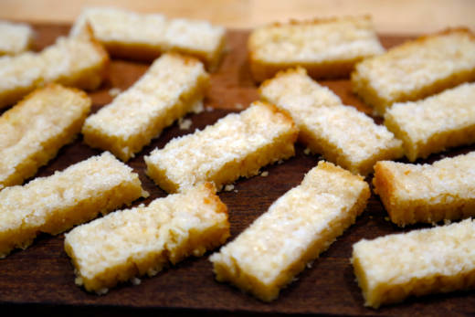 Lemony Shortbread