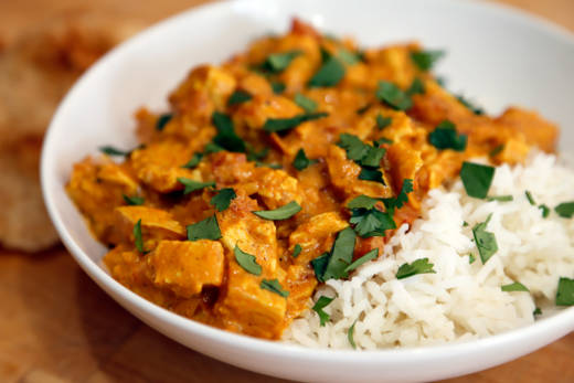 Indian-Style Turkey Tikka Masala