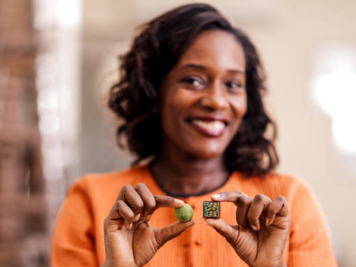 "Selassie Atadika, owner of Midunu Chocolates, says she likes to use African spices in chocolate because its ""a way to introduce people to our flavor profiles in an easy format."""