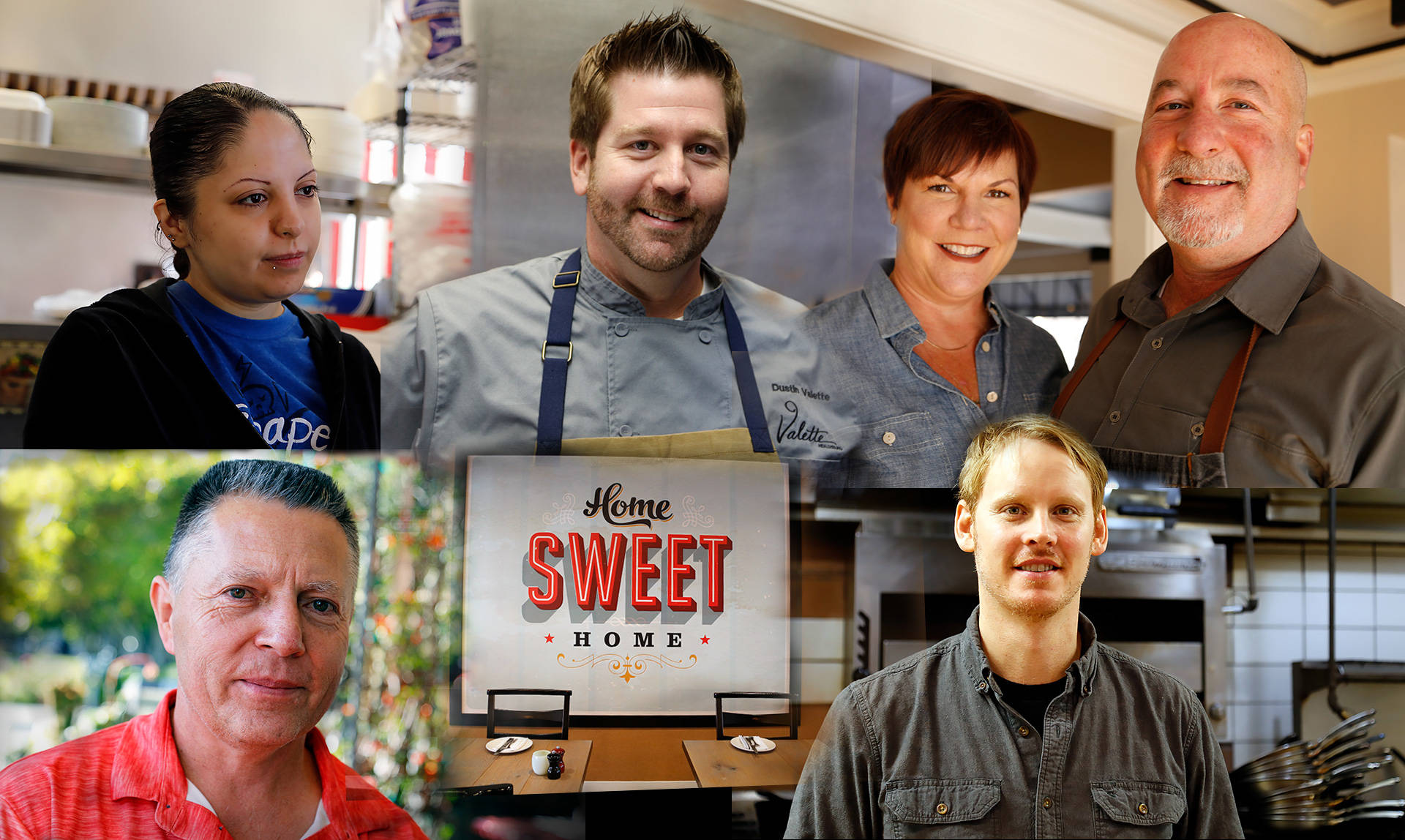 Some of the Sonoma county restaurateurs that supported the community during the North Bay Fires.