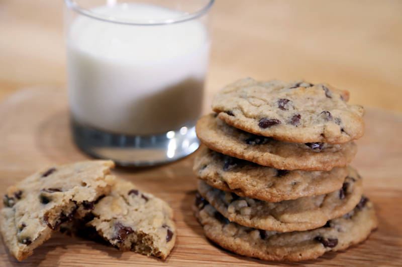 Chocolate Chip Cookie Recipe: Delicately Crisp on the Outside, Slightly Chewy on the Inside