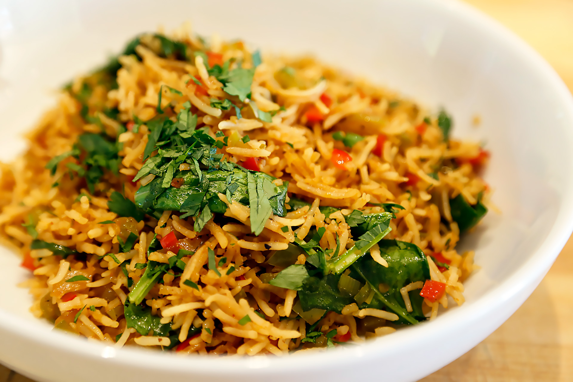 Tanya Holland's Vegetarian Dirty Rice