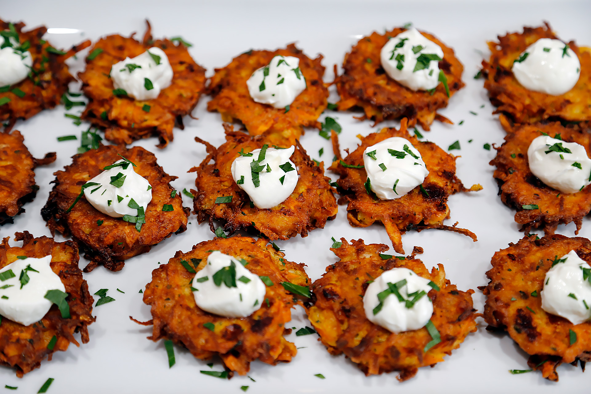 Root Veggie Fritters