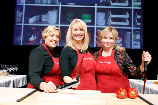 Julia Collin Davison and Bridget Lancaster, co-hosts of America's Test Kitchen and Cook's Country, joined KQED's Leslie Sbrocco at the KQED Studios on November 9, 2017.