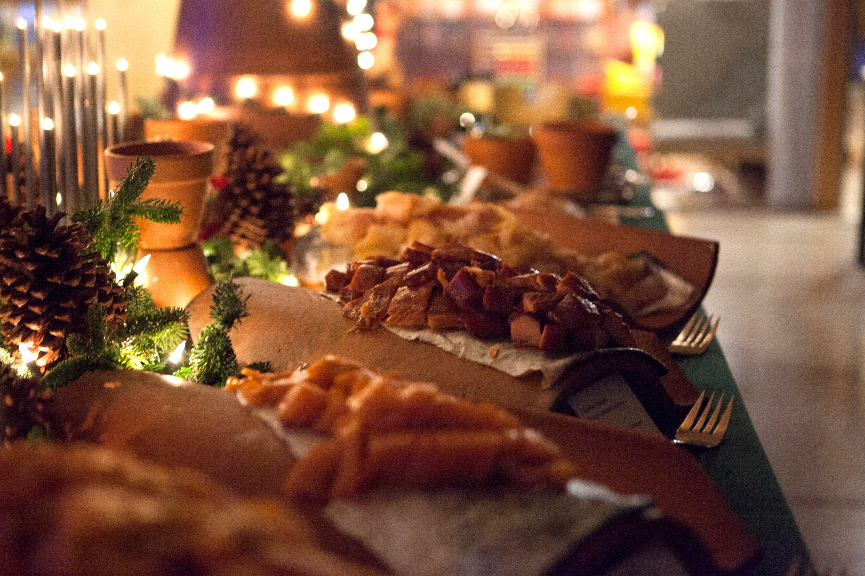 This year's julbord at the Swedish embassy offered eight types of herring, 11 kinds of fish and cheese, 14 warm dishes, and finally, a diet-killing 30 desserts.