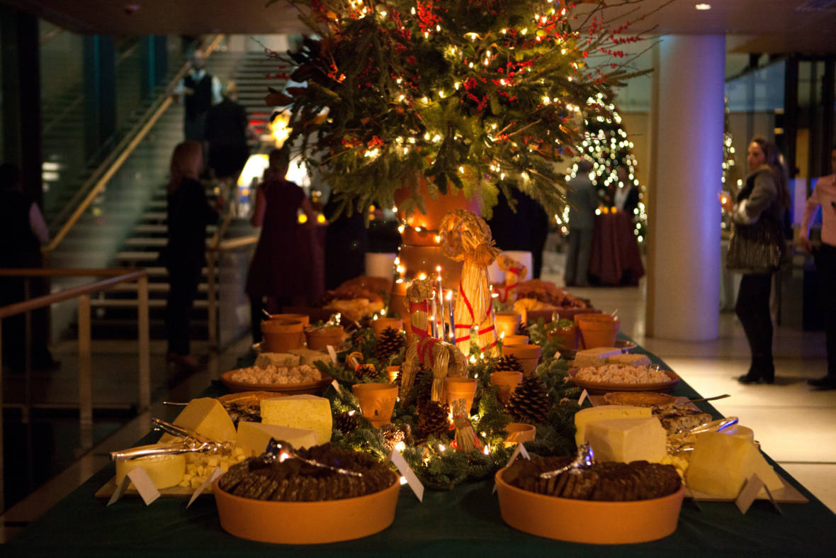 At Christmas, The Swedish Smörgåsbord Redefines Over The Top