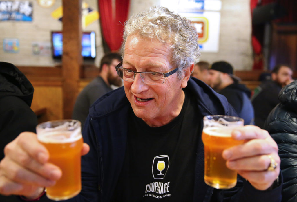 Lindsay Waddell compares the taste of Pliny the Younger, left, with Pliny the Elder.
