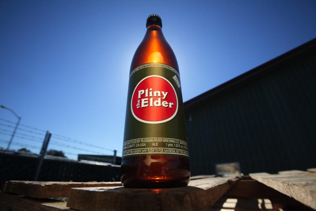A bottle of Pliny the Elder