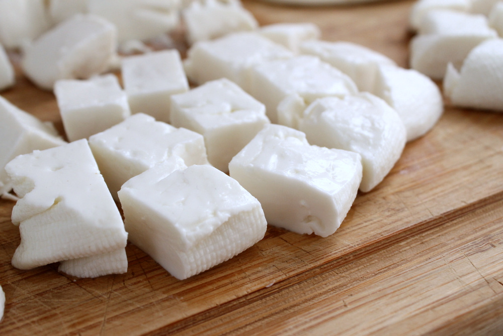 Homemade Feta Cheese