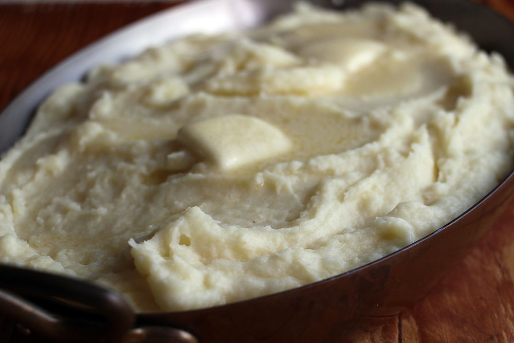 Celery Root–Parsnip–Potato Mash