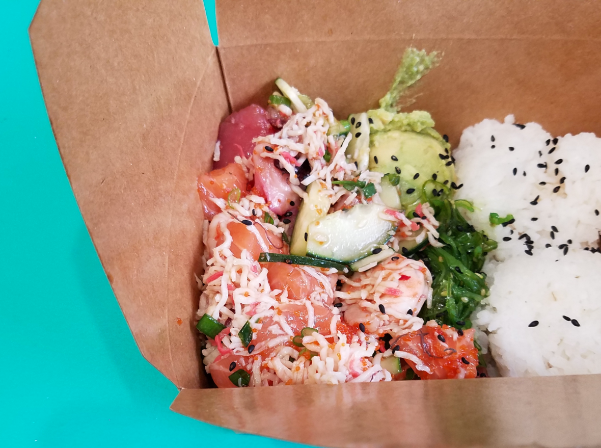 Five Poke Bowls to Try in San Francisco