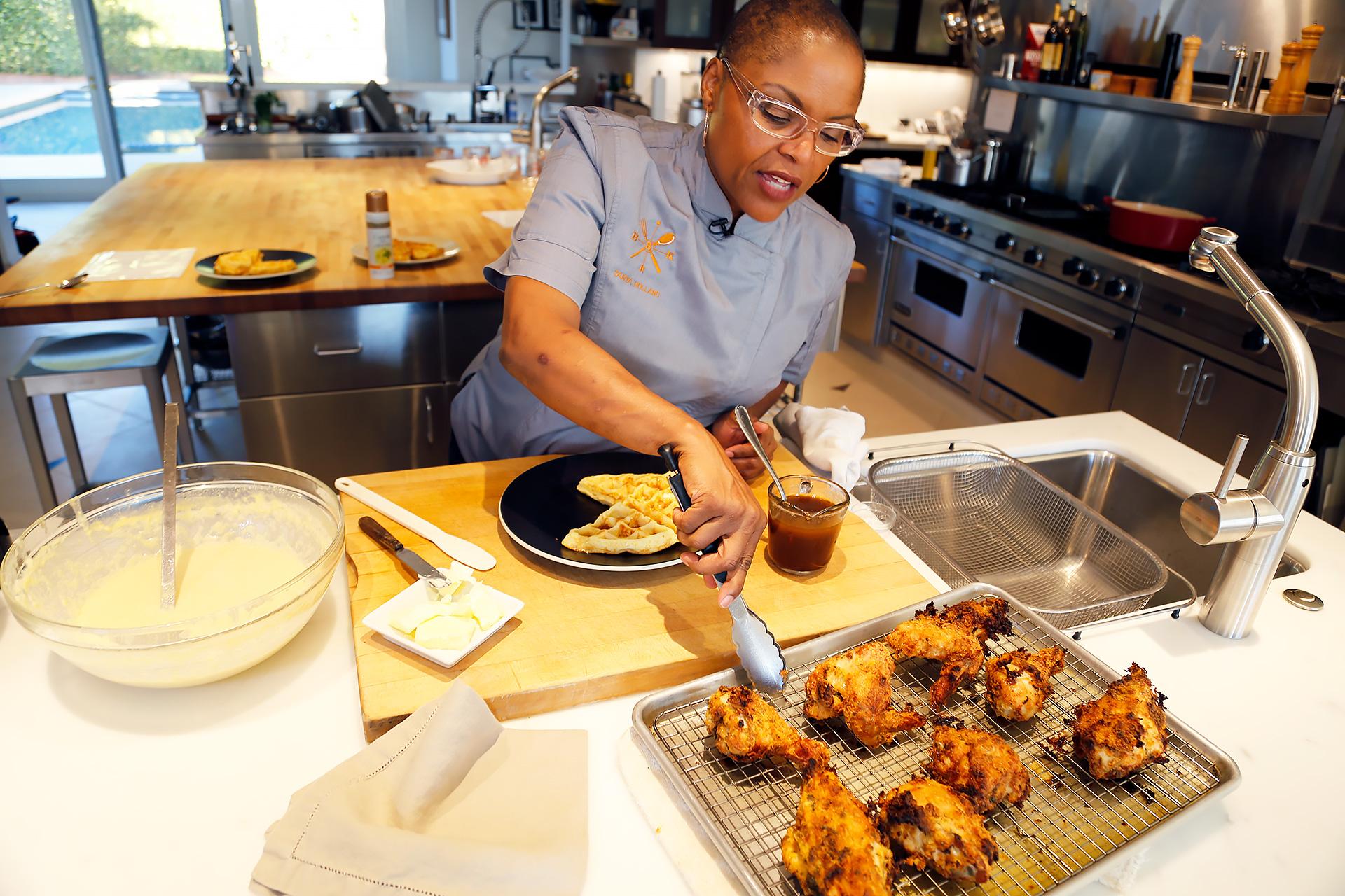 Chef Tanya Holland's Buttermilk Fried Chicken