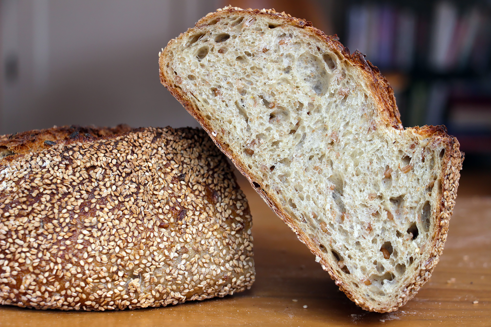 Firebrand's Sprouted Rye Batard