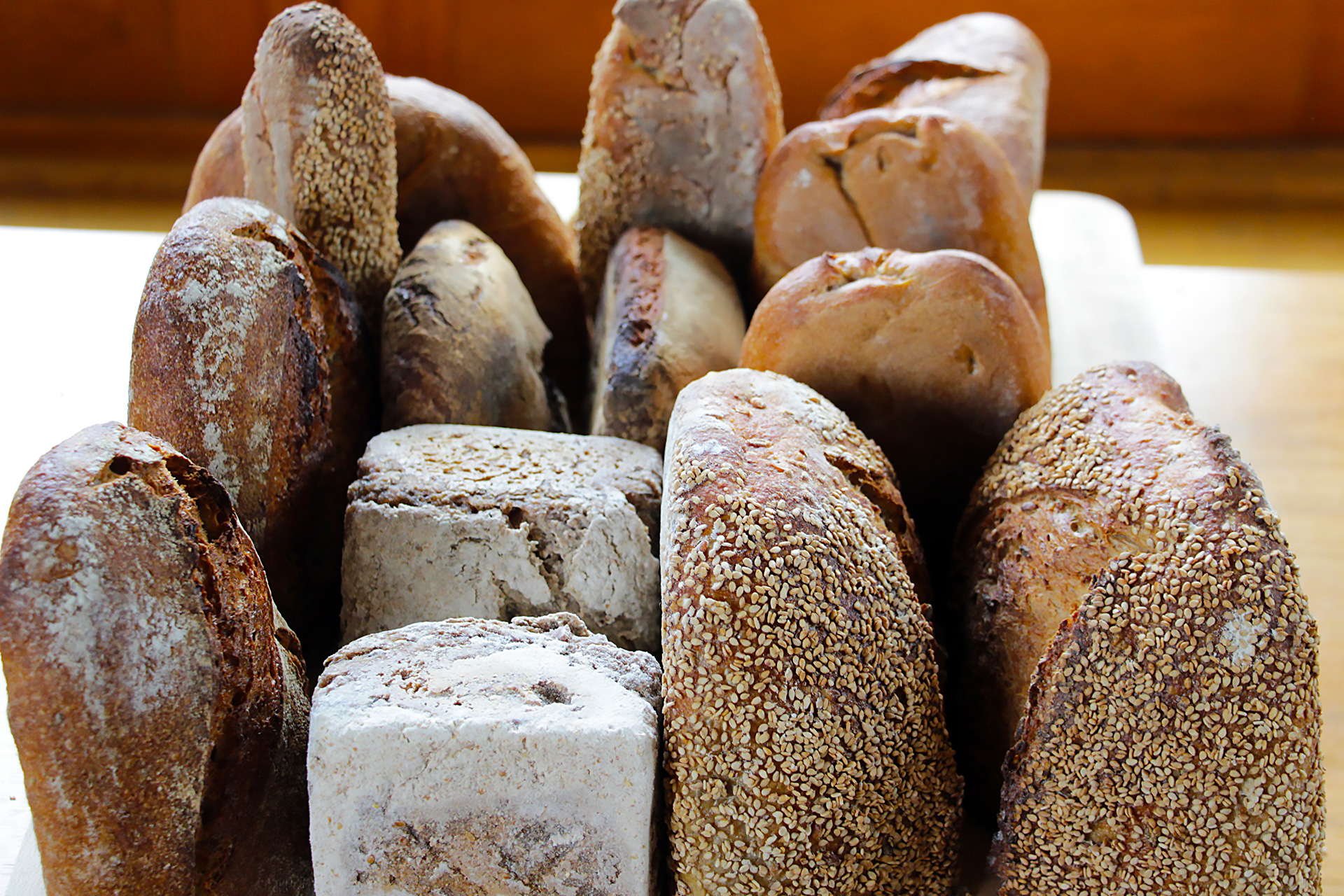 Rye Breads from East Bay bakeries