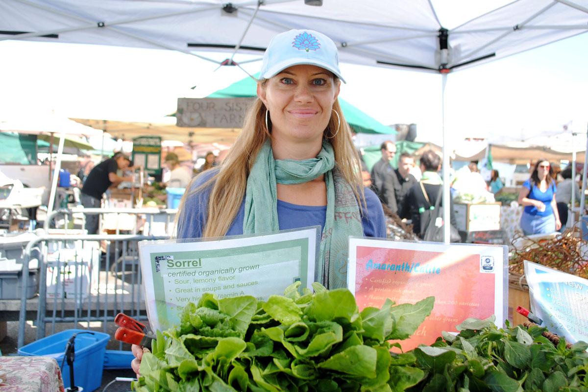 Jill Gammons of Four Sisters Farm