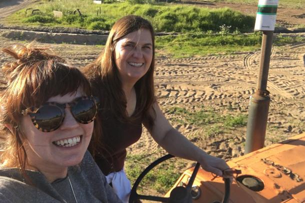 Sandi and Sarah McGinnis, McGinnis Ranch
