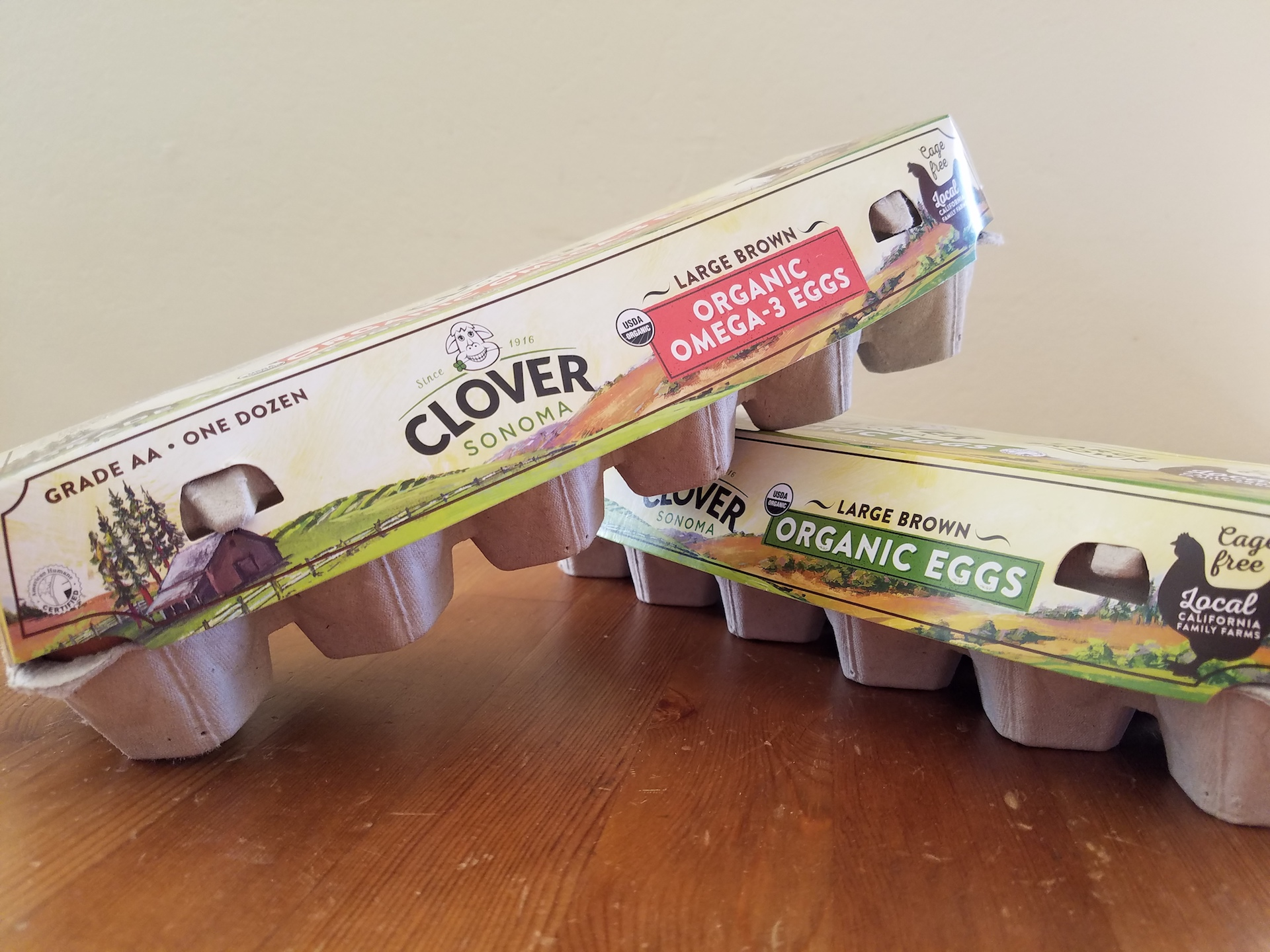 Clover eggs