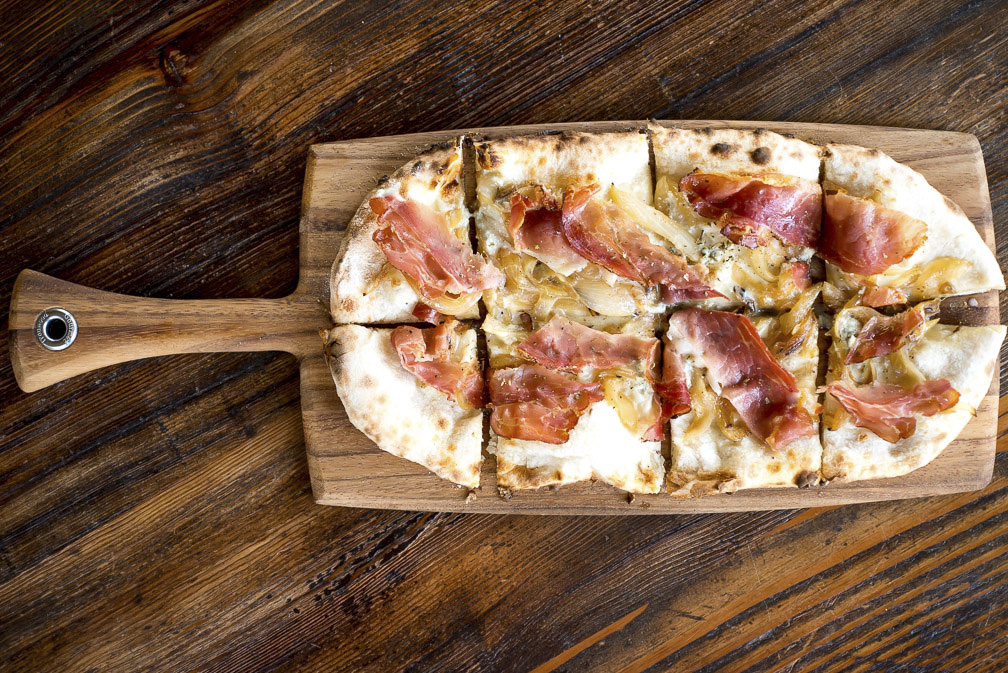 Pizzas will be coming out of Cento Osteria's wood-fired oven all night.