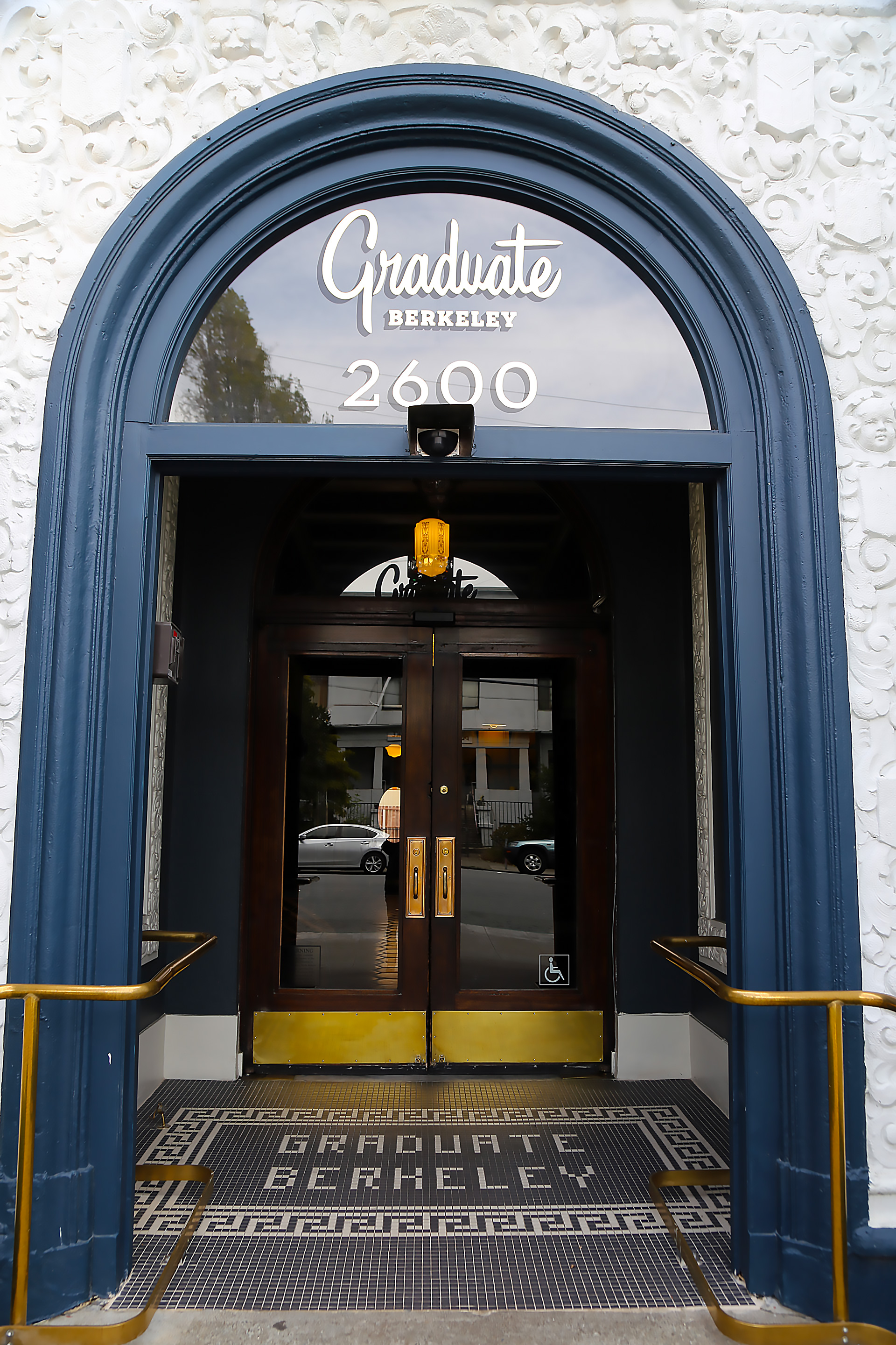 Graduate Berkeley -entrance to Henry's