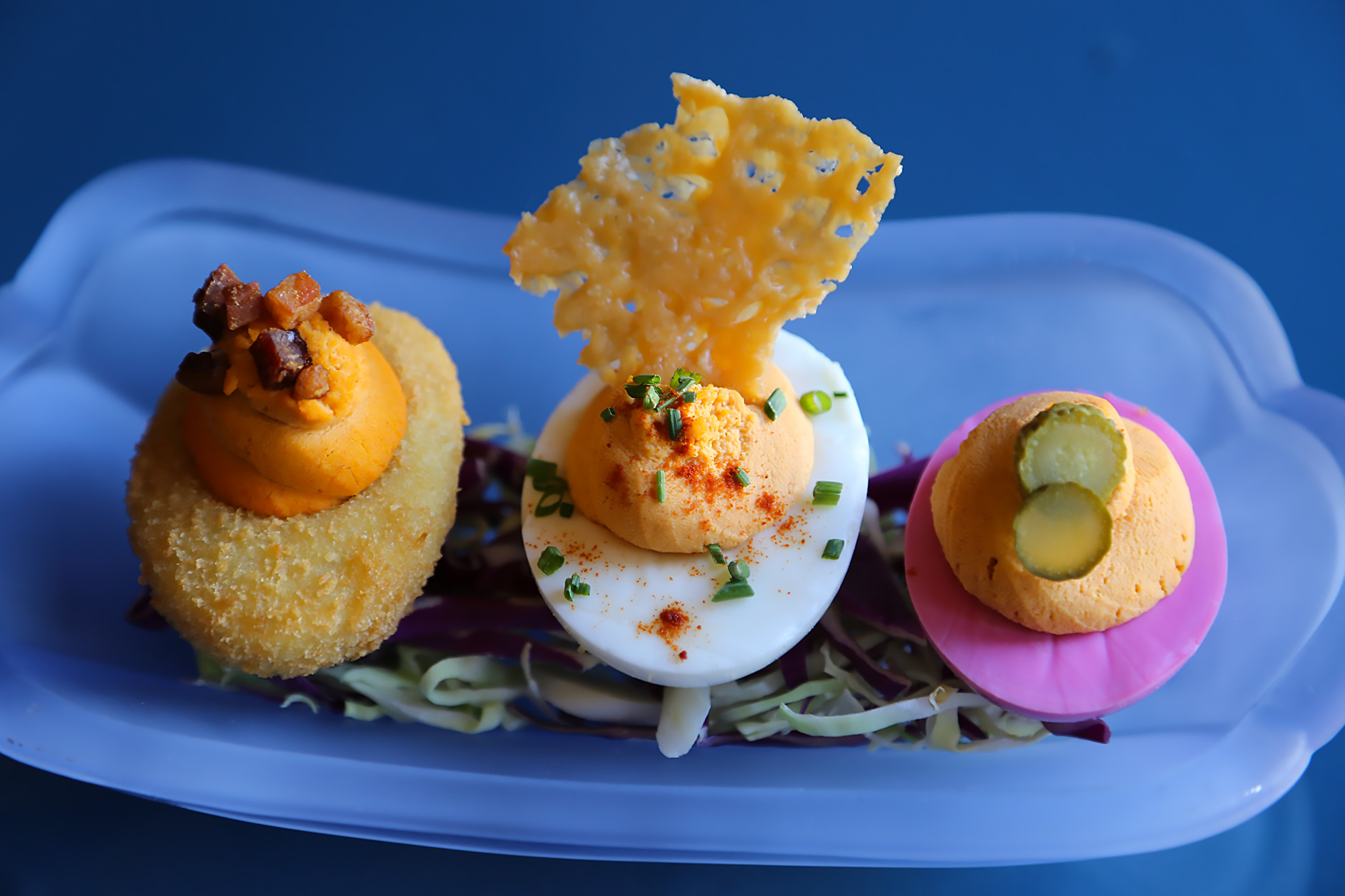Trio of Deviled Eggs
