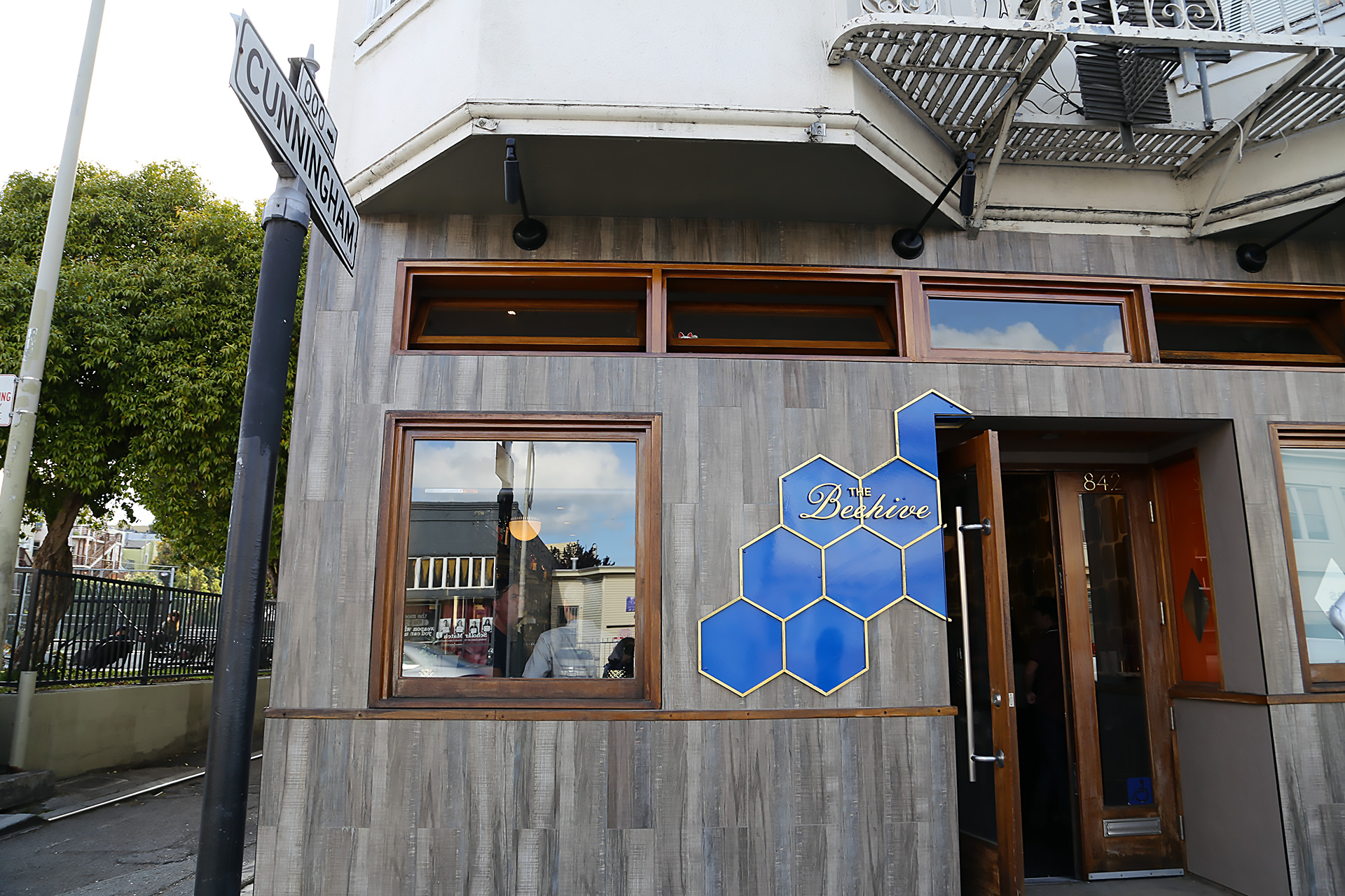 The Beehive exterior