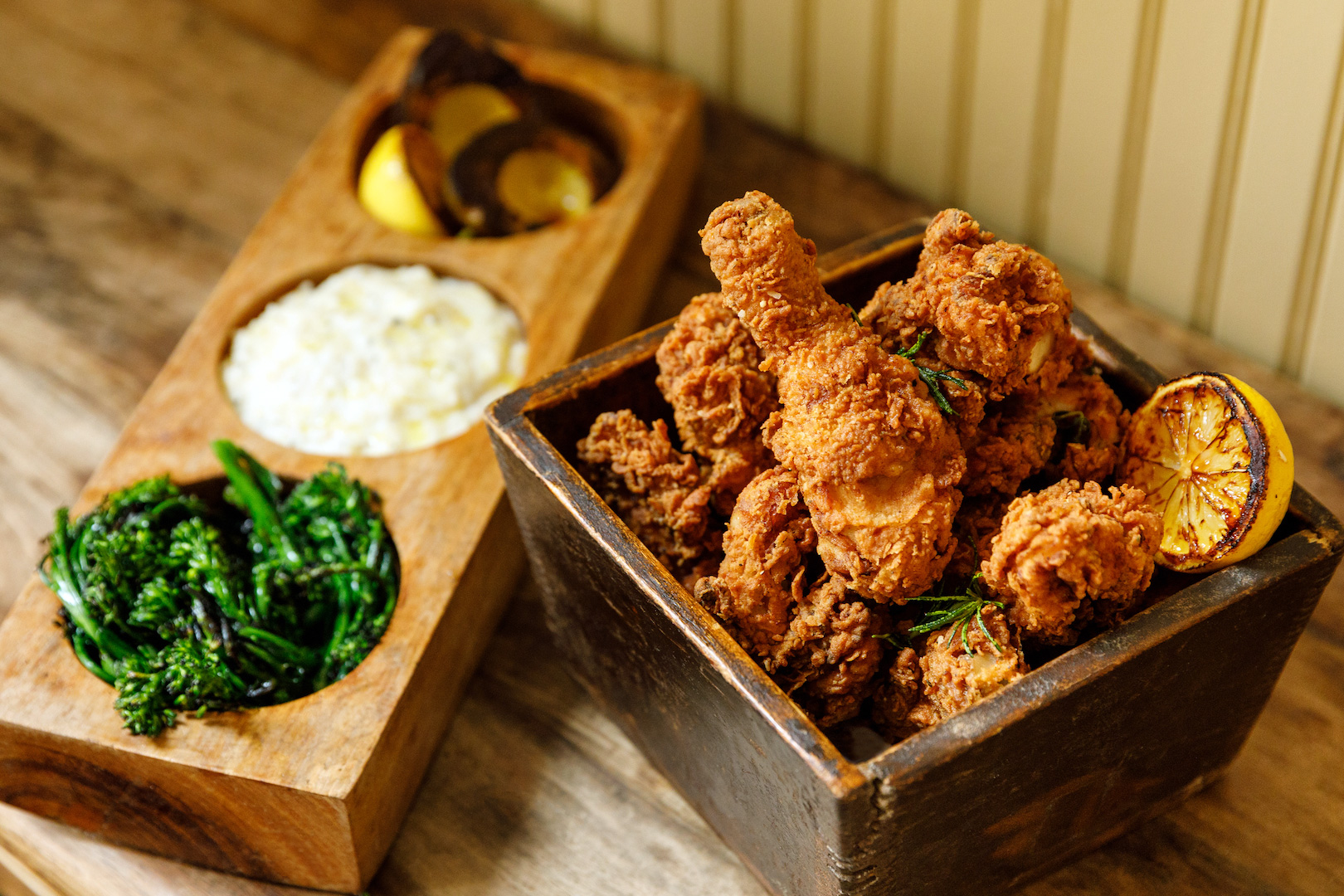 Town Hall's fried chicken is consistently a highlight.