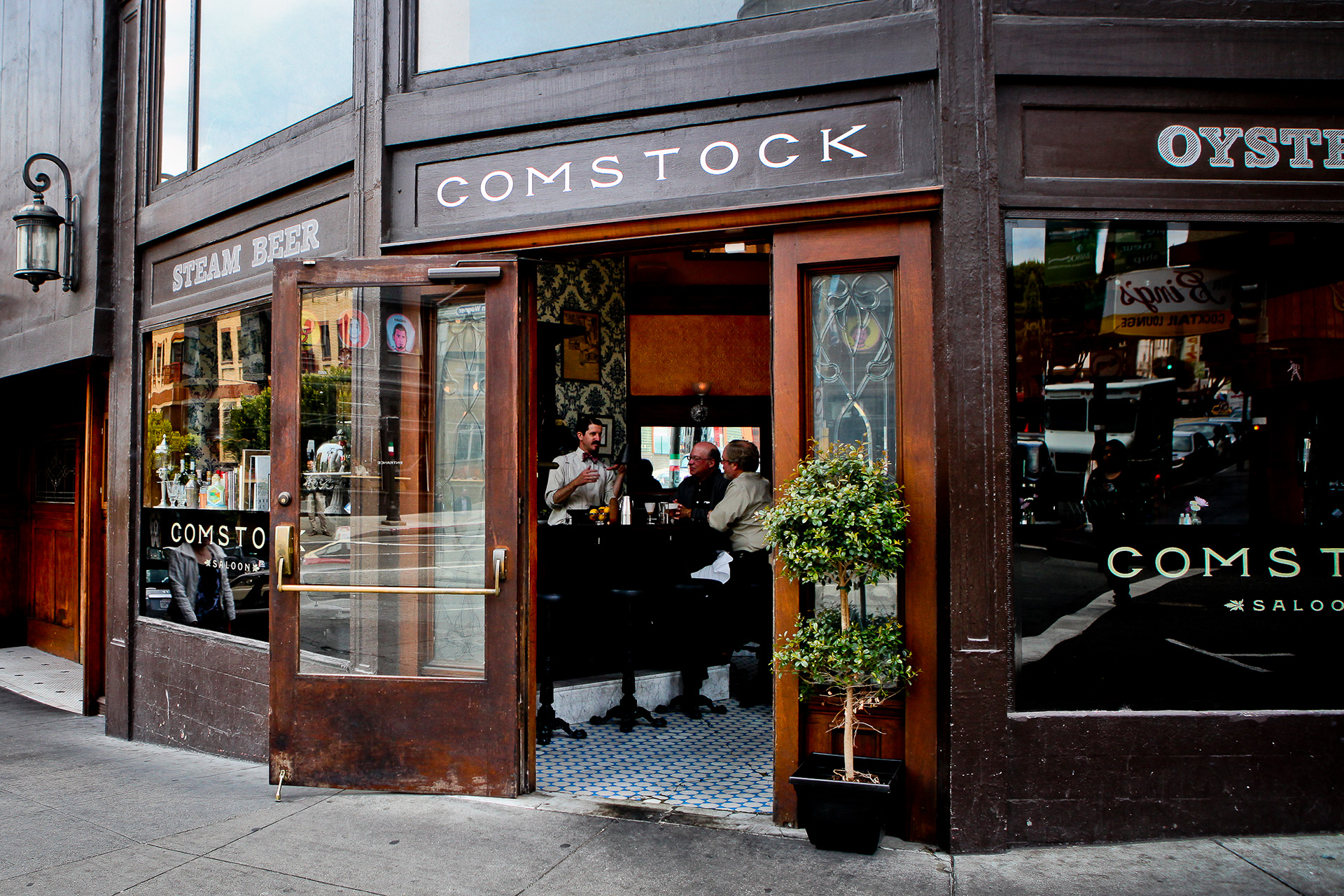 No need to head to Churchill Downs for the Derby (and all the hats)—Comstock Saloon is ready to host you!