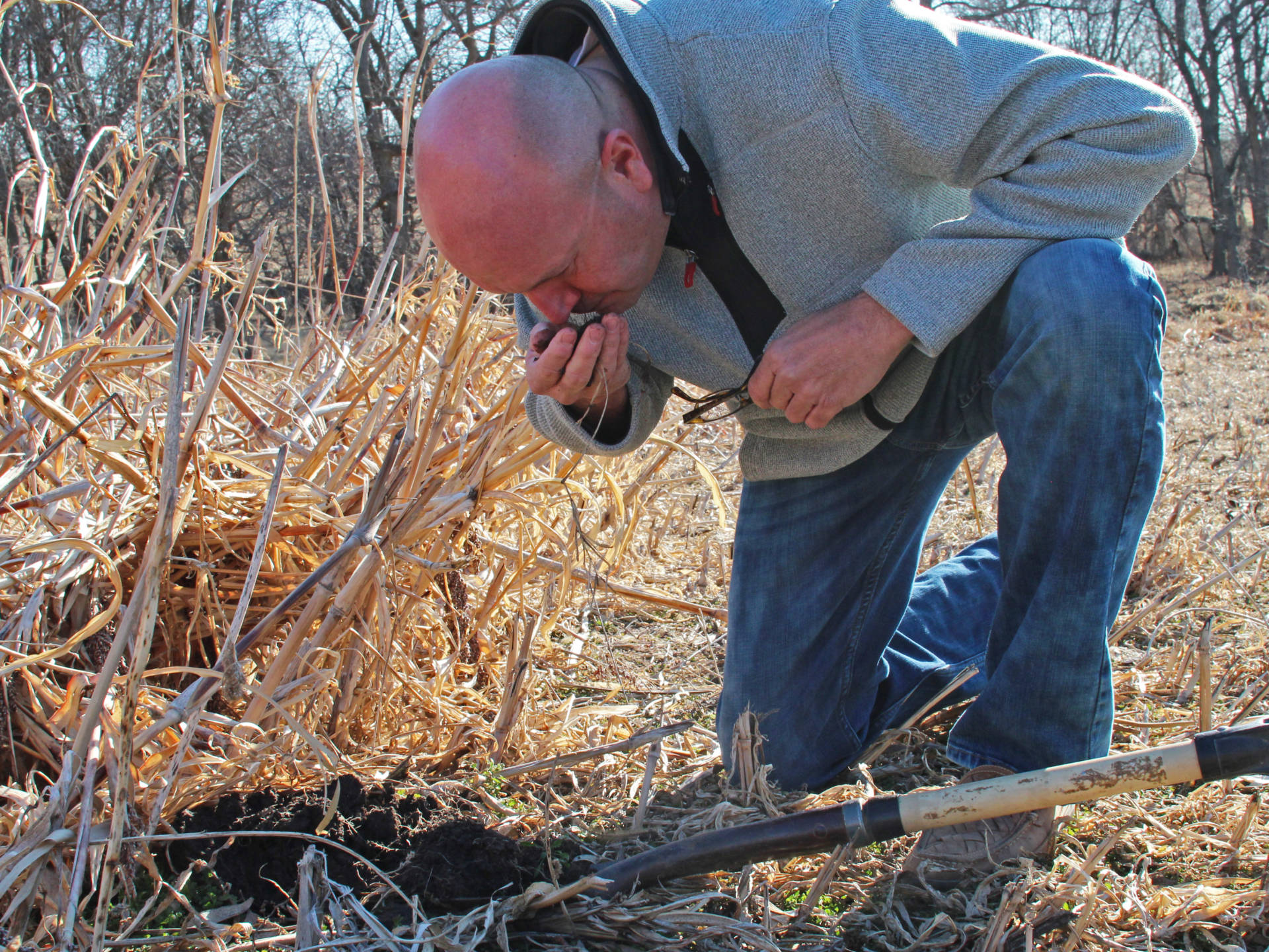 For Del Ficke, improving the soil is a spiritual quest.