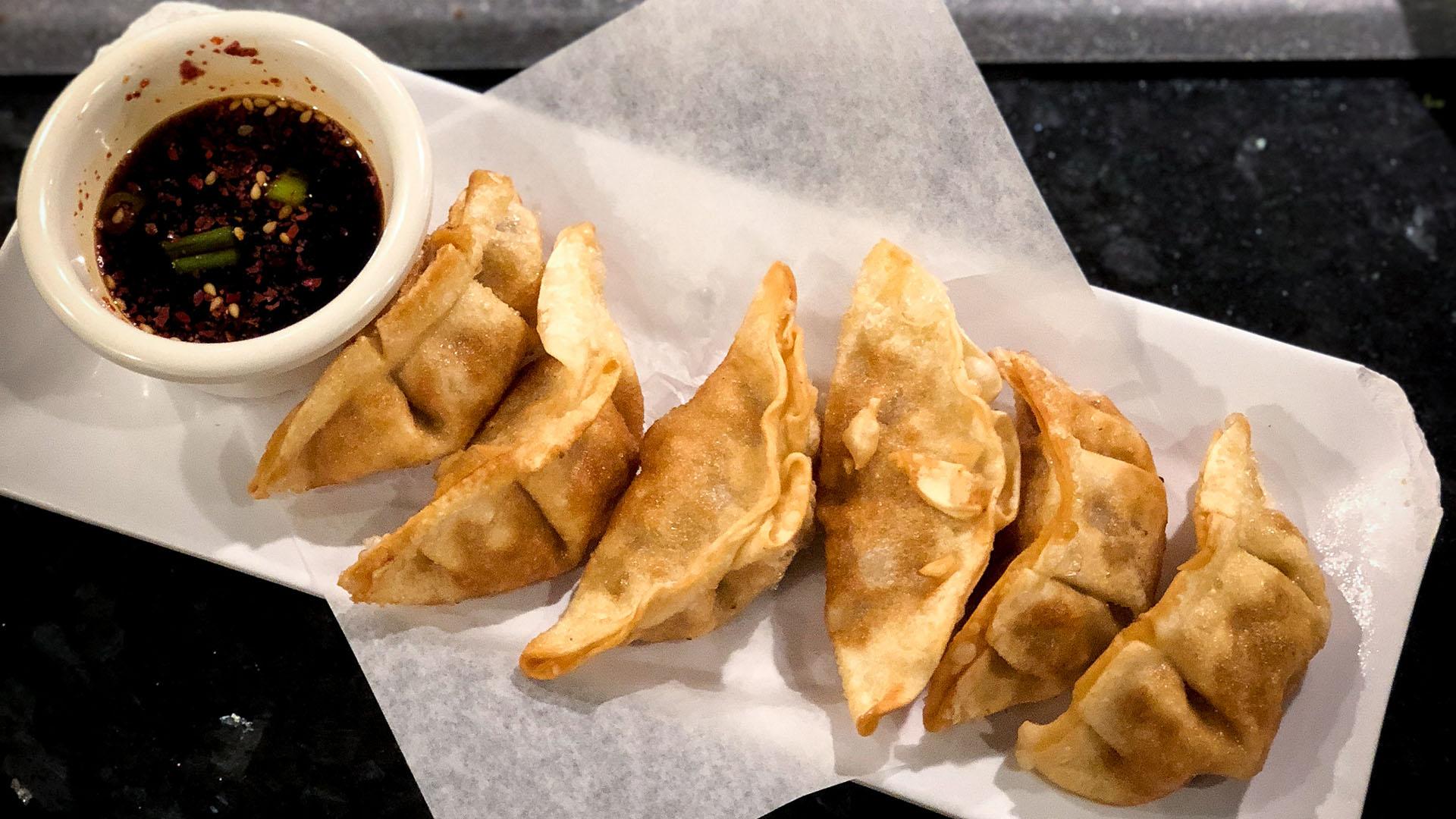 Fried Mandu.