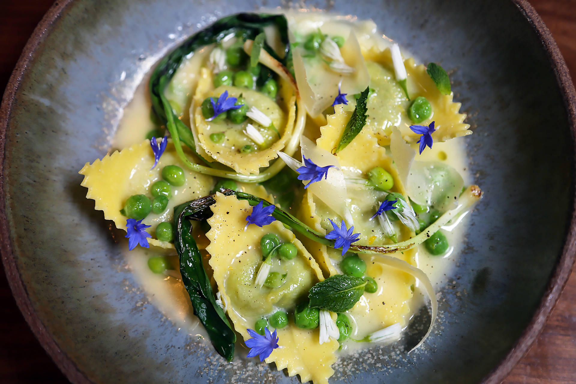 Cappellacci in Whey at Sorrel Wendy Goodfriend