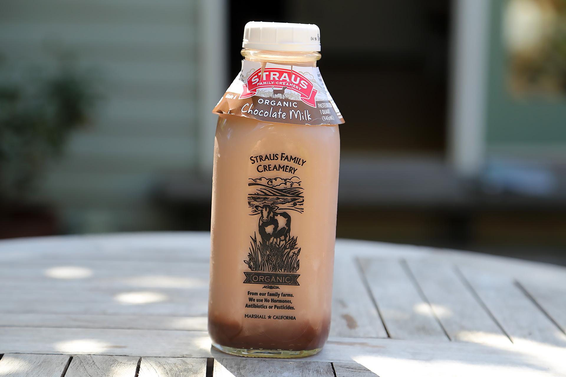 Leite de Chocolate Orgânico Straus