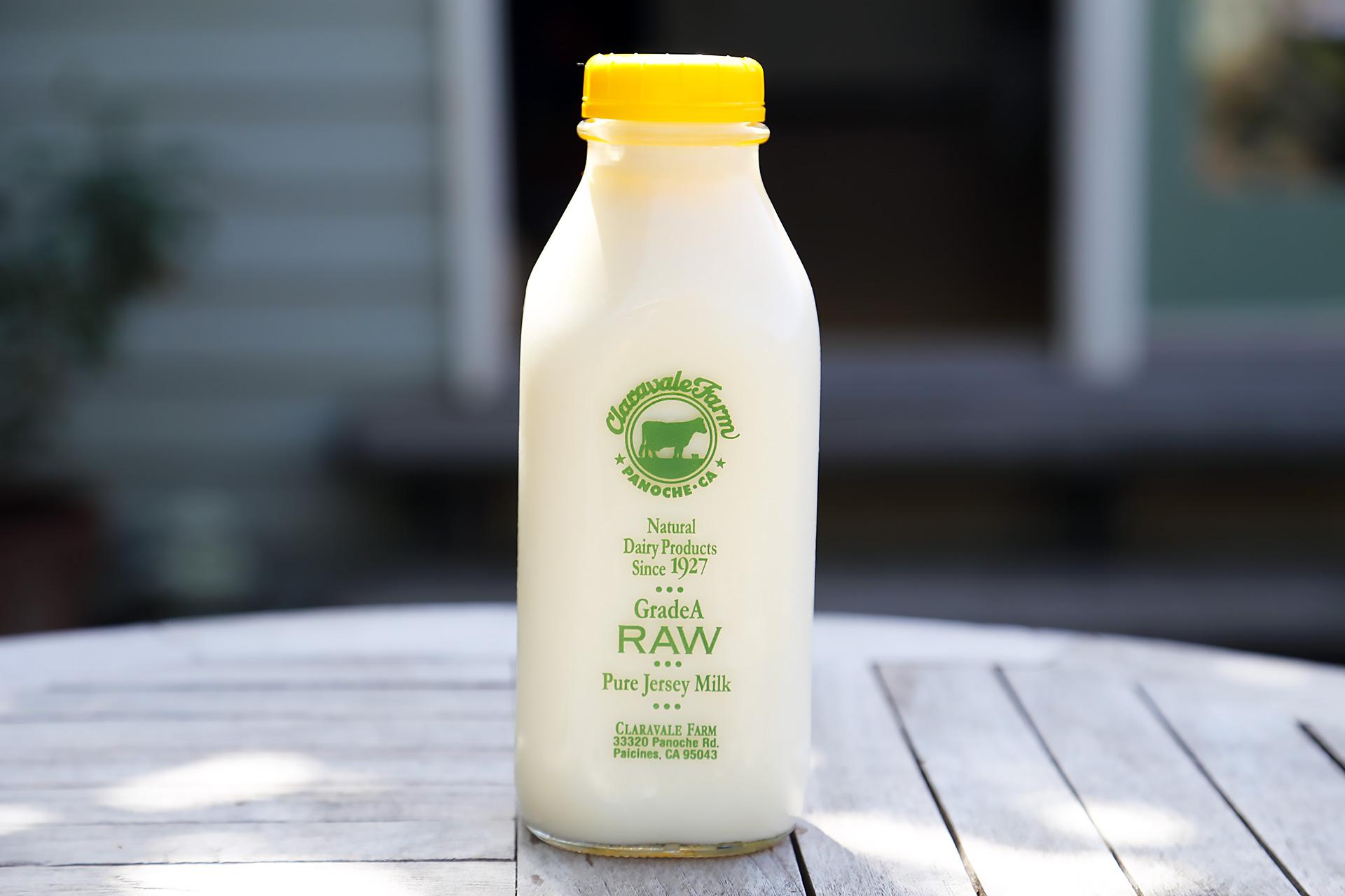 Claravale Raw Pure Jersey Milk