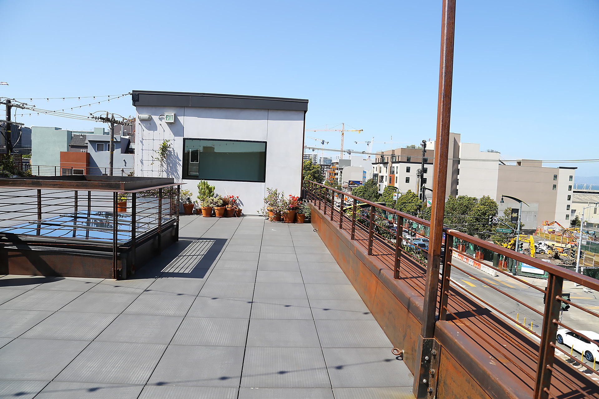 The Pearl rooftop patio