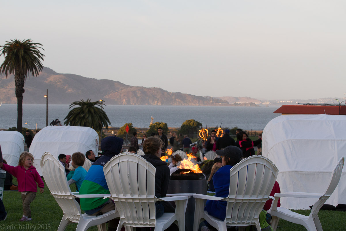Presidio Twilight has returned on Thursdays—bring on the lobster rolls and fire pits.