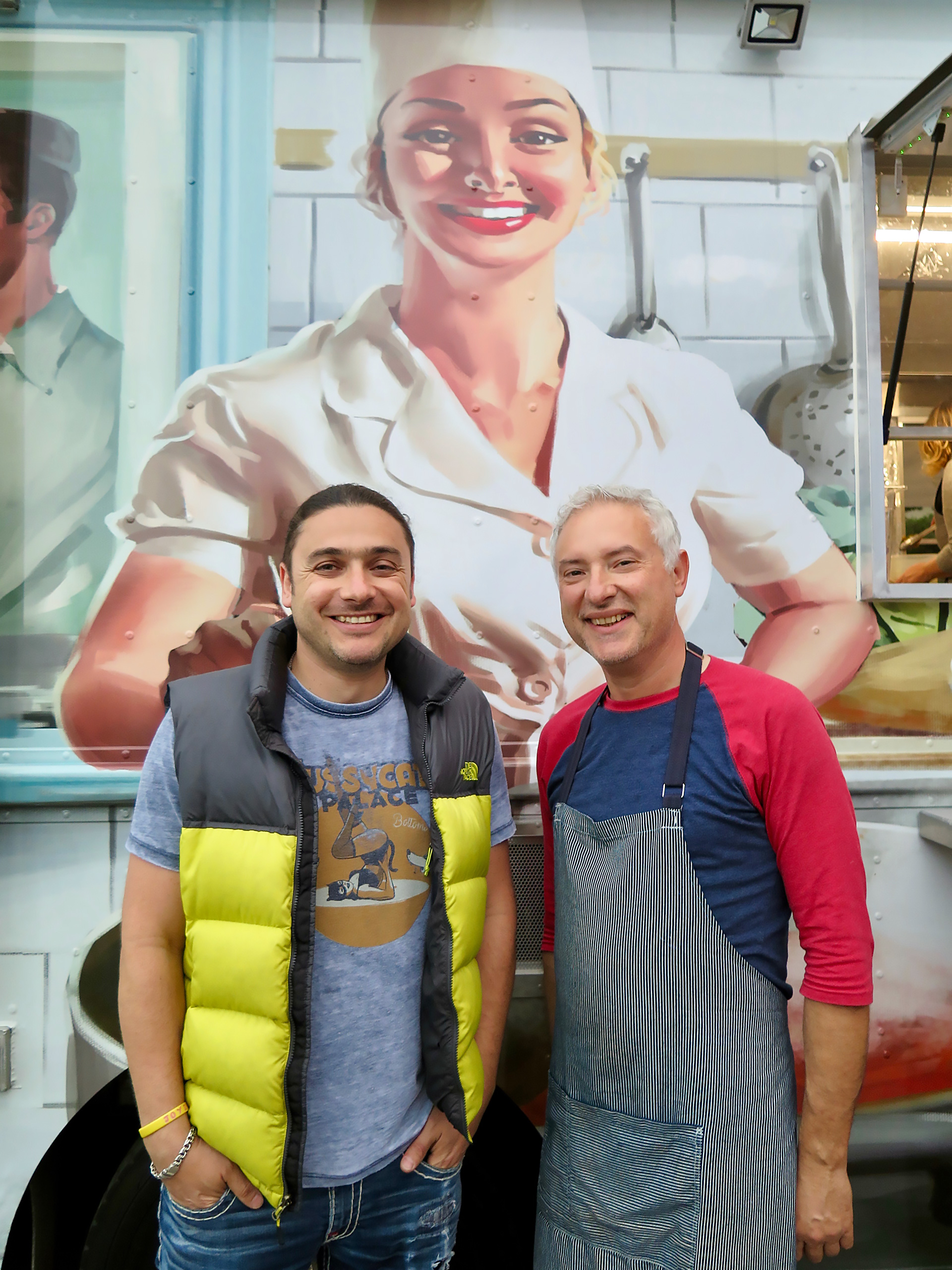 Meet the cooks behind the Borsch Mobile: Kirill Deninzon and Igor Teplitsky.