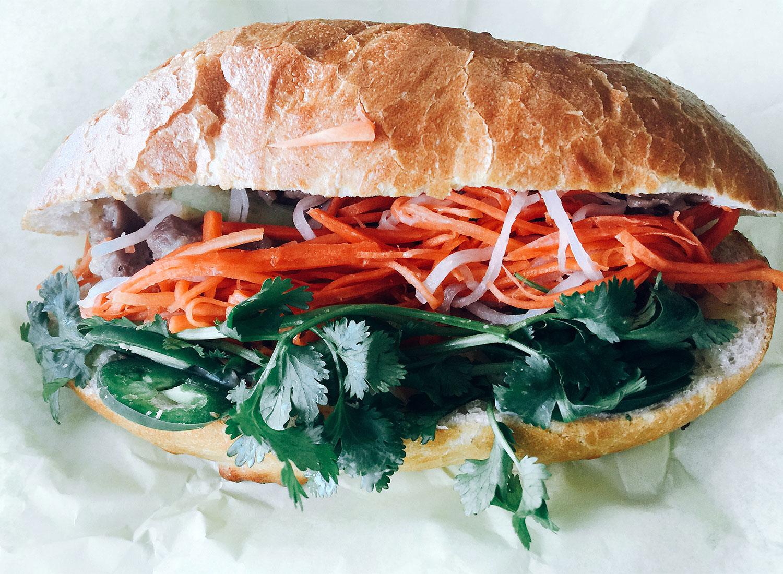 Thuan Phat Banh Mi Sandwich in Santa Rosa.