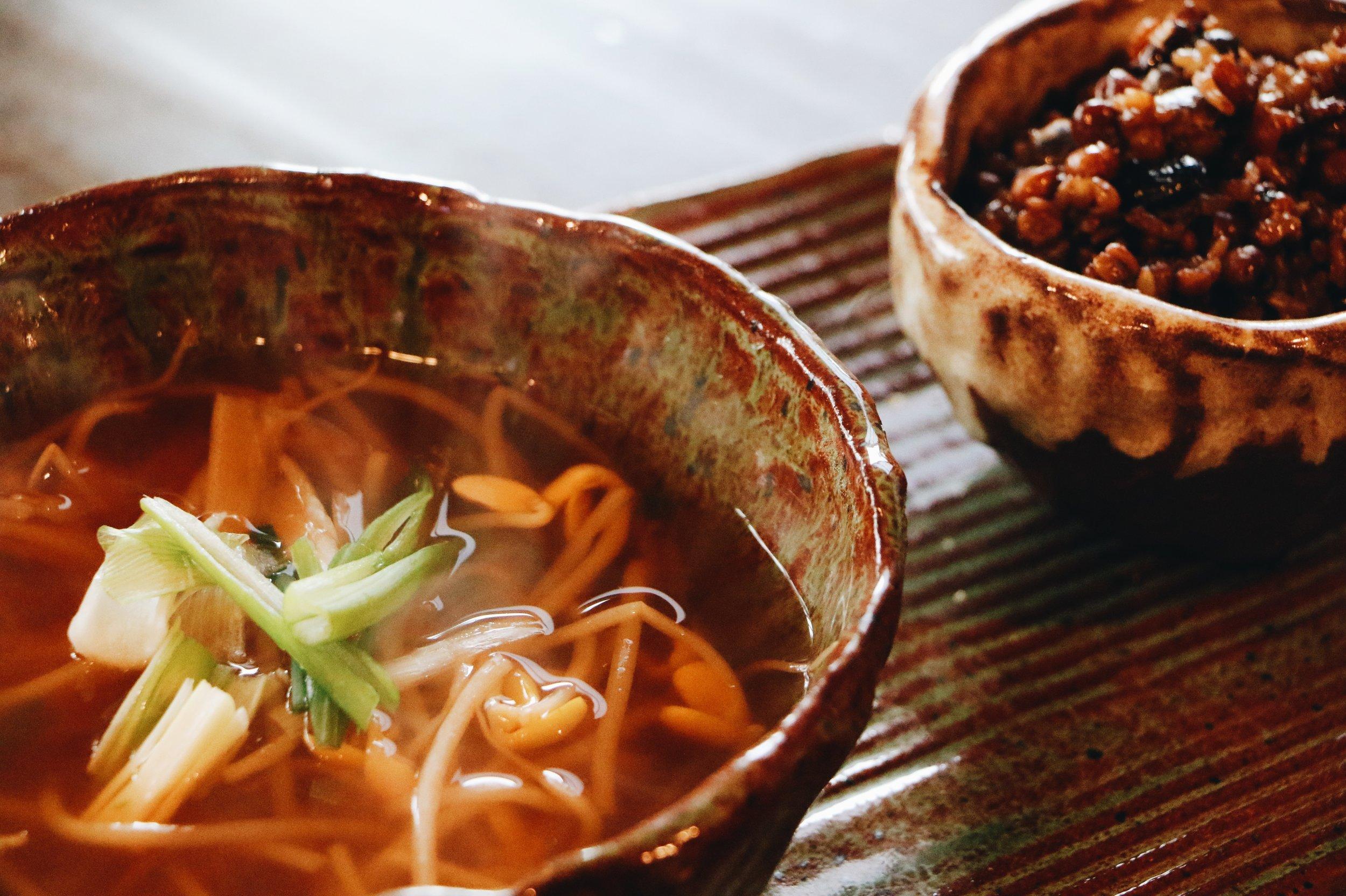 Kongnamul-guk, soybean sprout soup