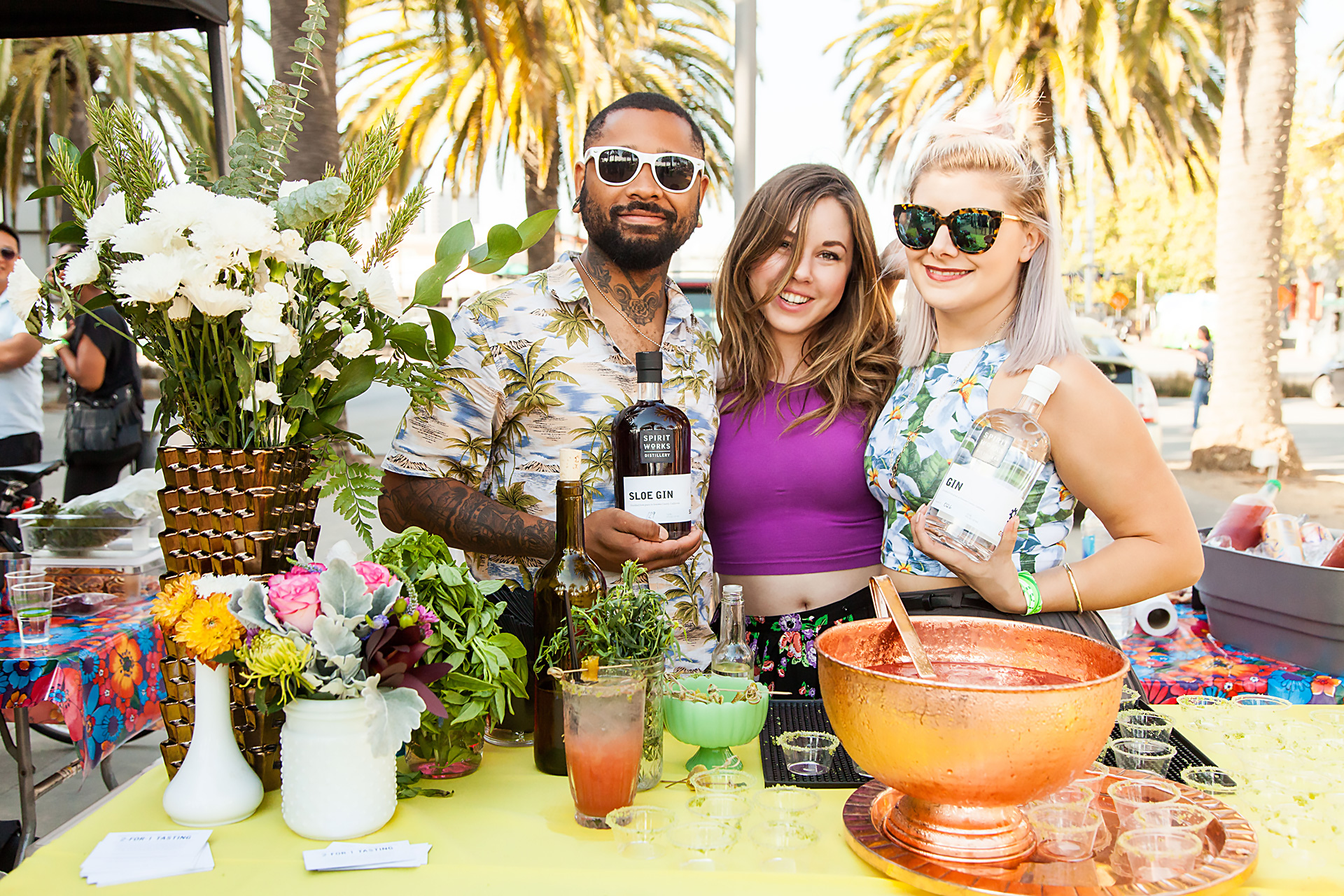 Taste your way through some fabulous cocktails at Cocktails of the Farmers Market.