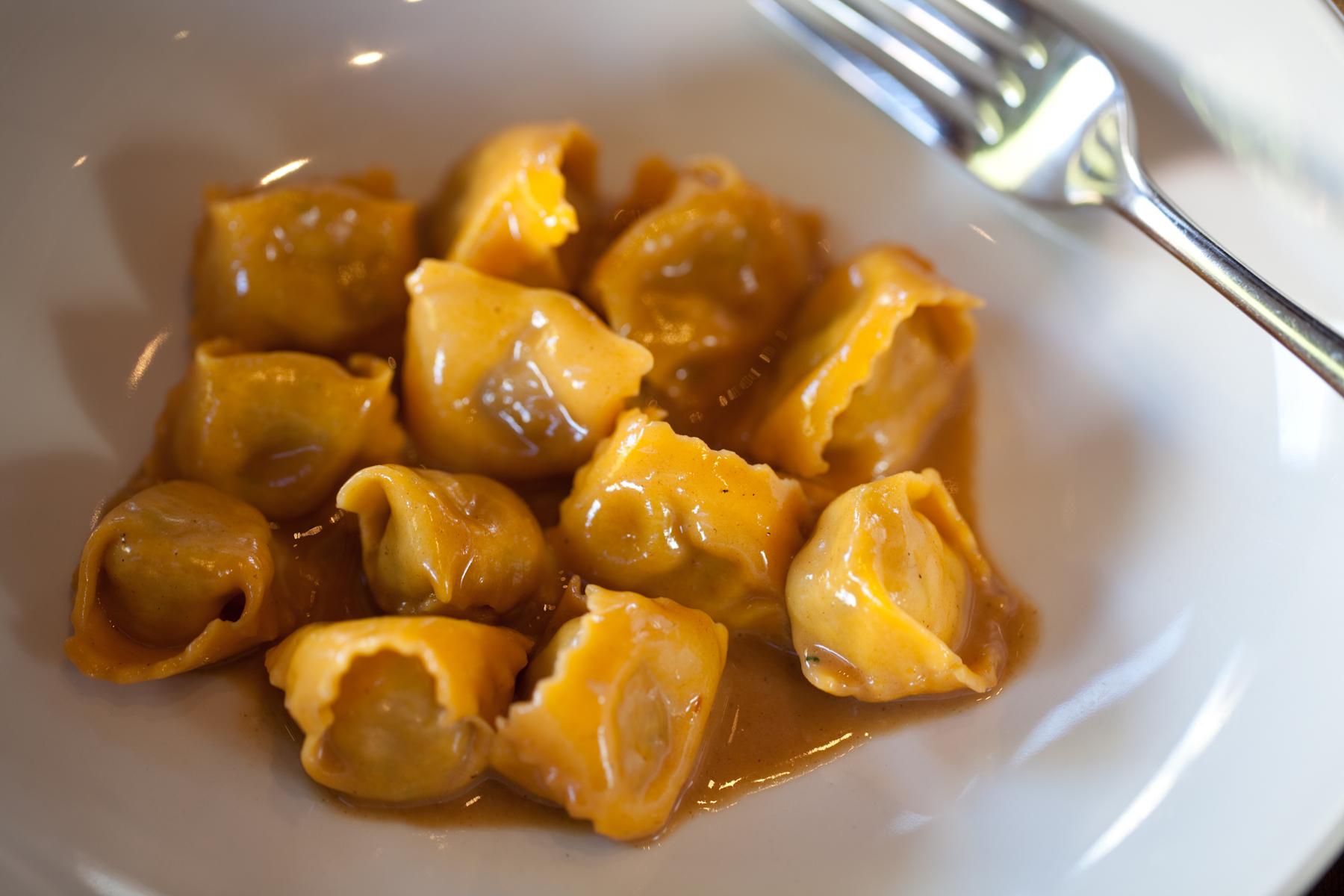 The famous Ristobar plin piemontesi.