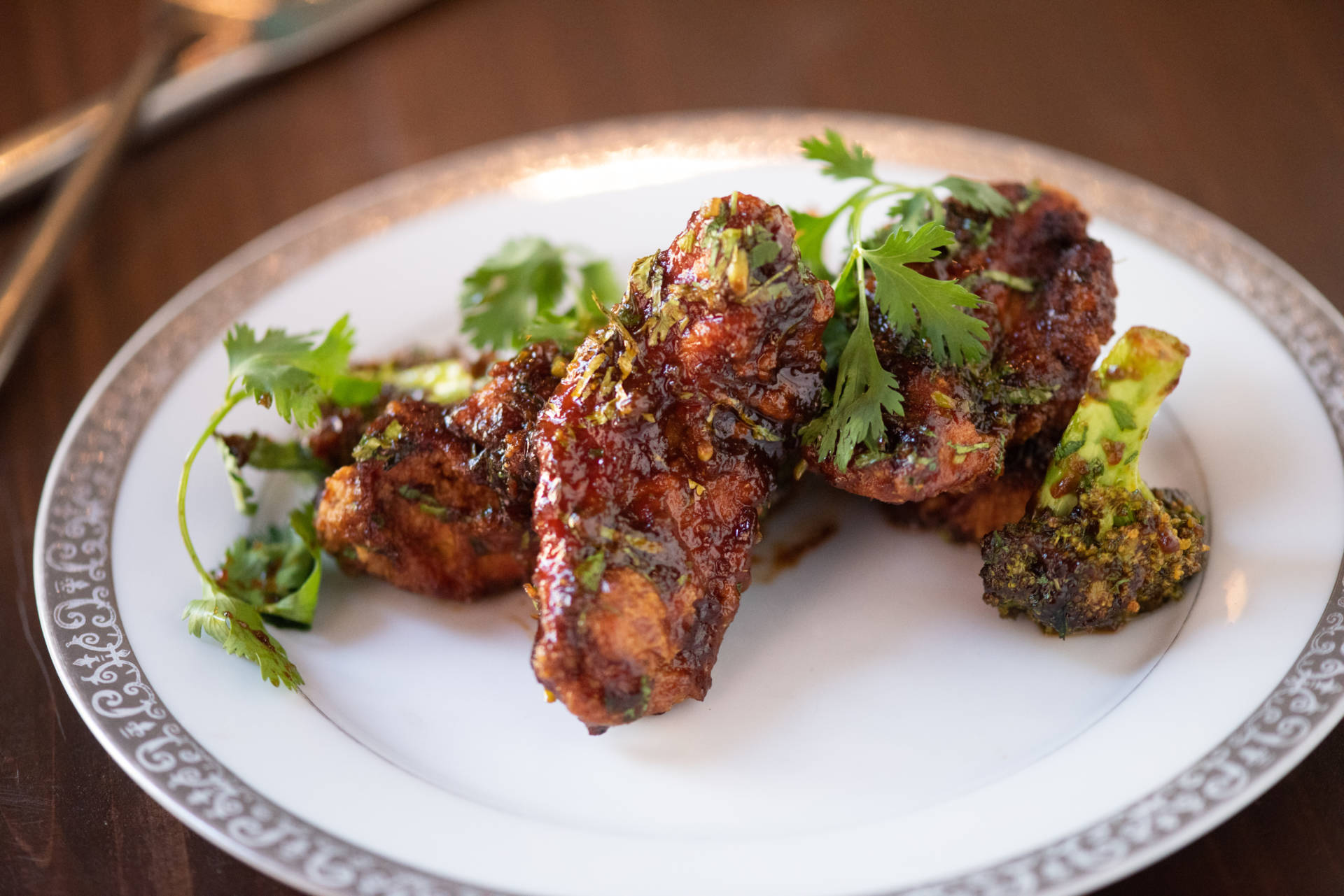 Fried chicken is on the menu at the newly rebranded Ritu.