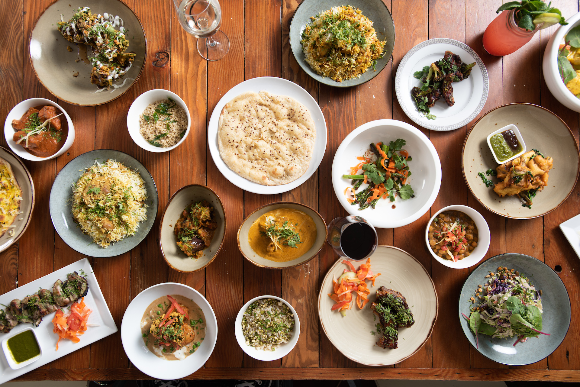 There's no shortage of dishes to enjoy at the rebranded Ritu.