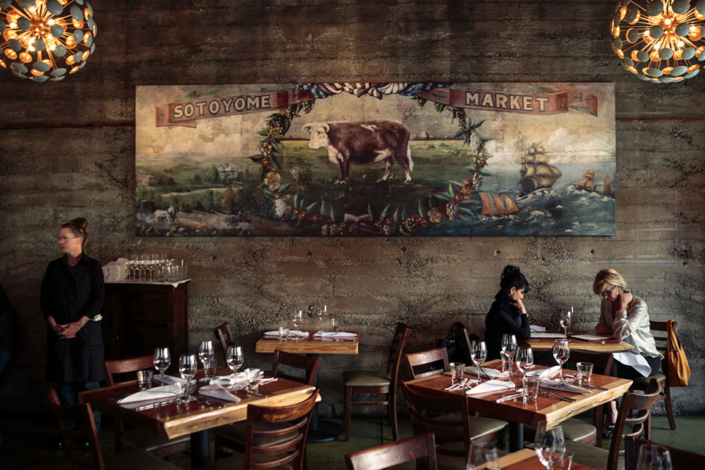 Place to Take Your Parents (So They Can Pay): Valette, Healdsburg