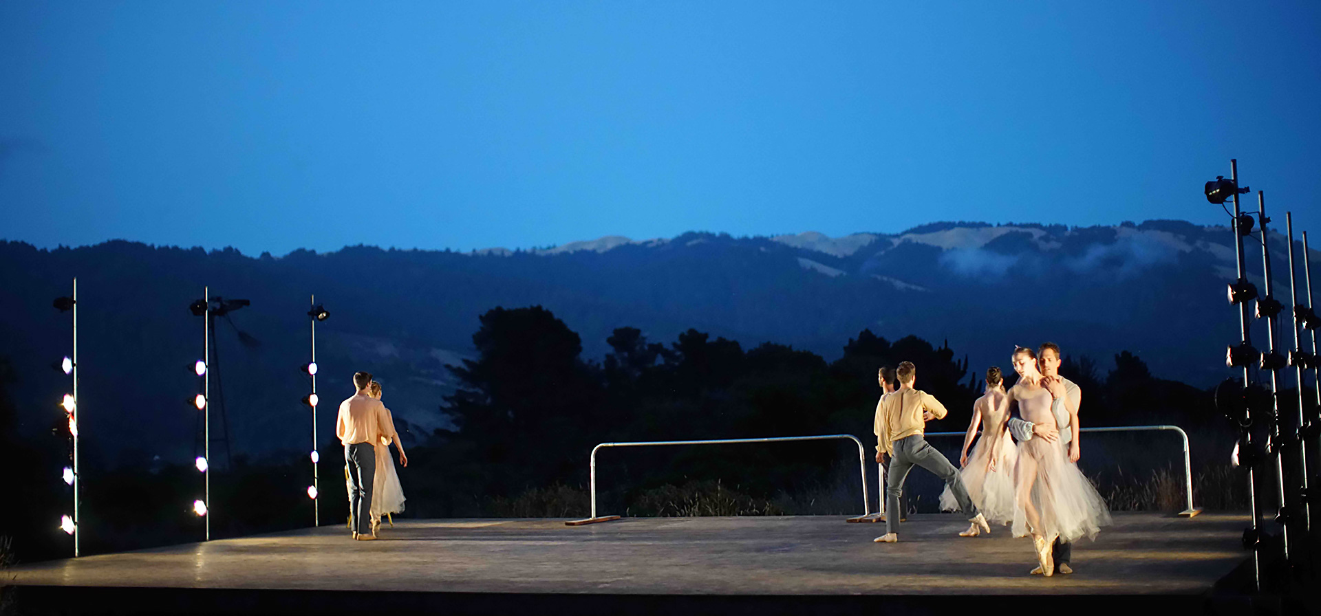 It's hard to imagine a more-beautiful backdrop for a ballet than the rolling hills of West Marin.