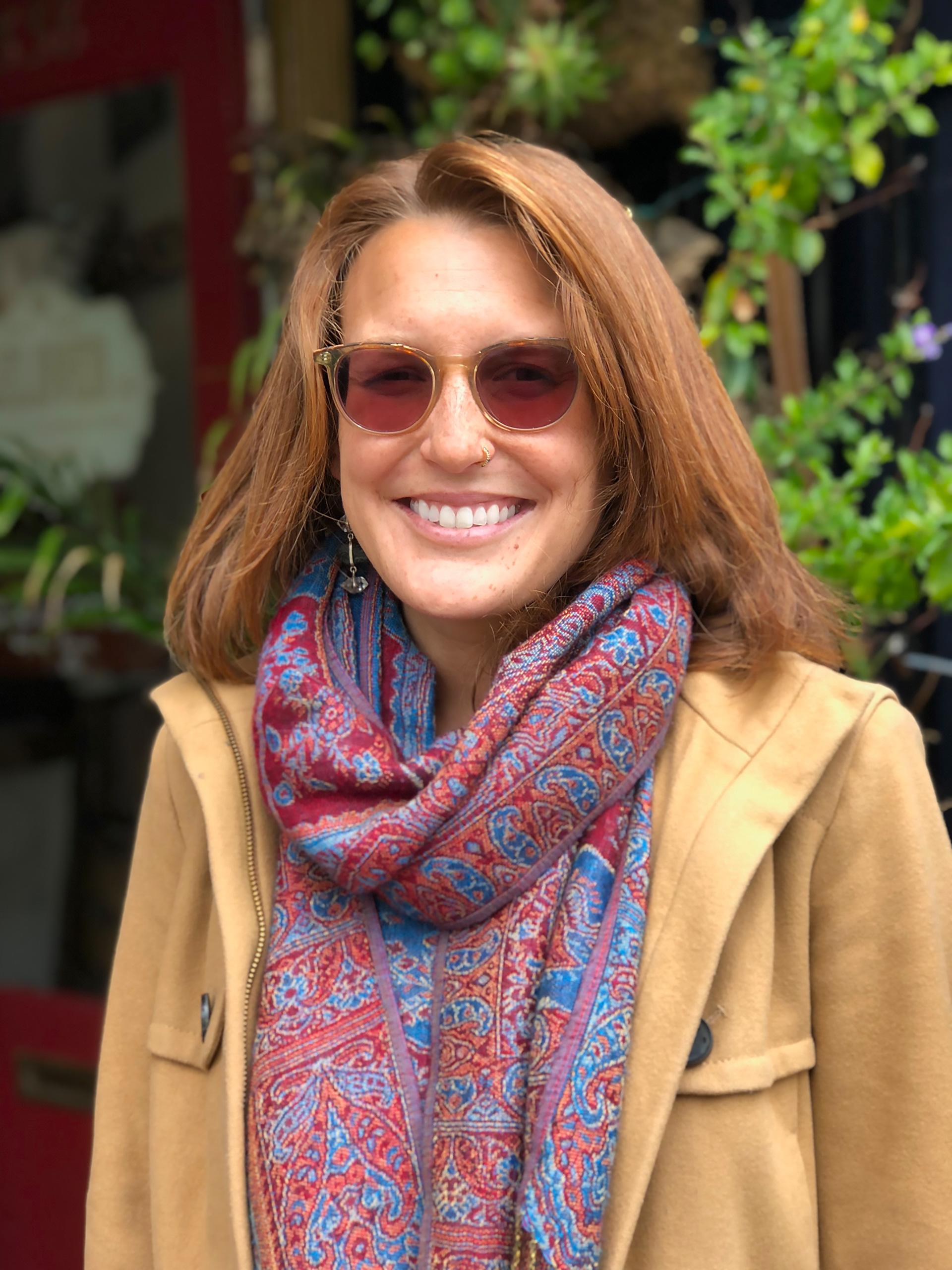 Beloved Café Co-owner Amy Vito.