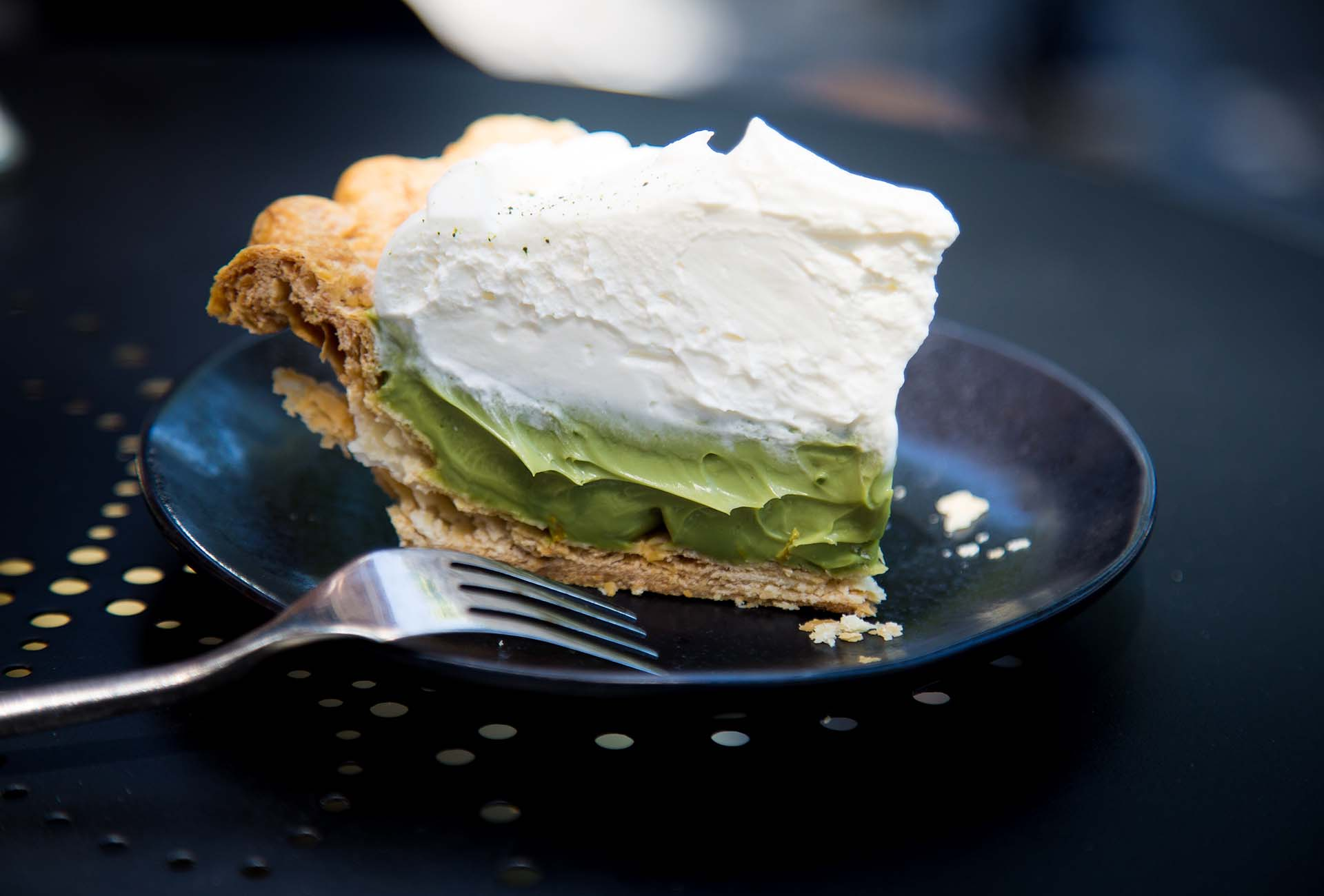 The Stonemill Matcha matcha cream pie