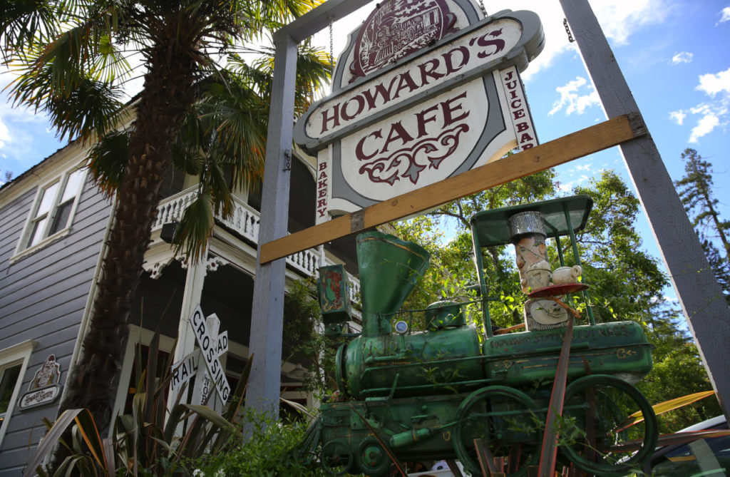 Howard's Cafe is a popular spot in Occidental.