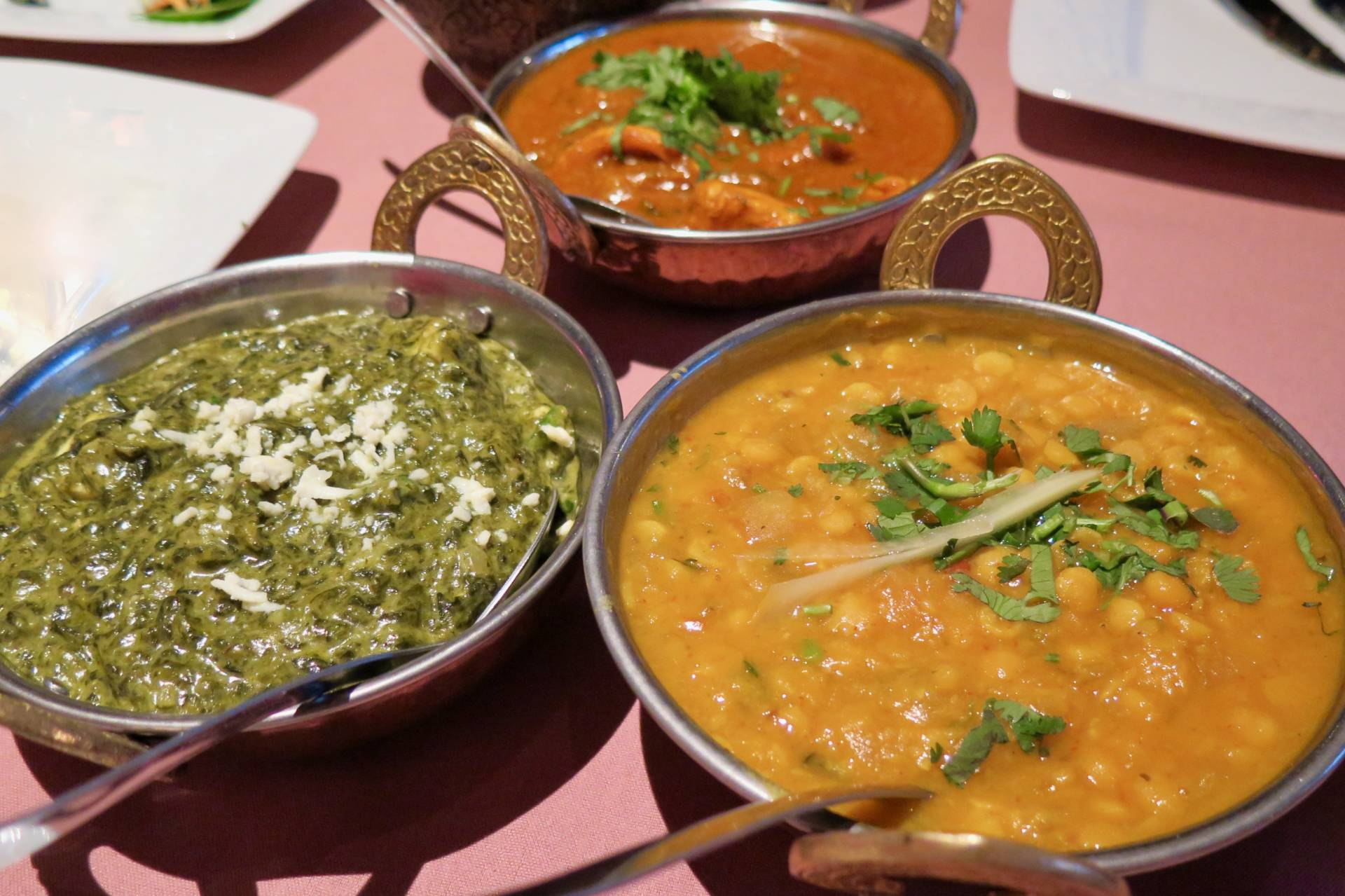 The creamy organic paneer makes this saag stand out.