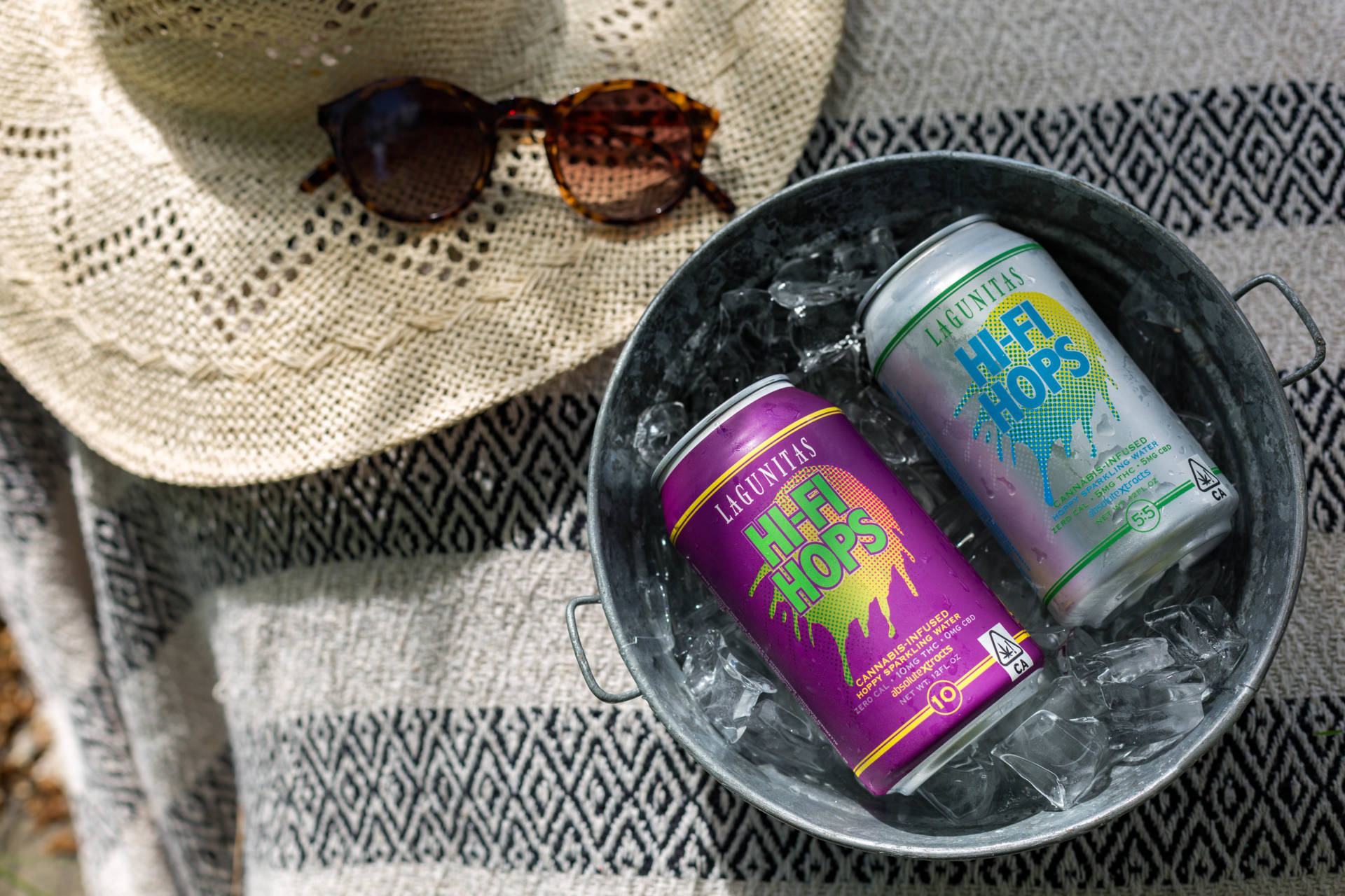"Meet Hi-Fi-Hops, the sparkling THC ""beer"" from Lagunitas and AbsoluteXtracts."