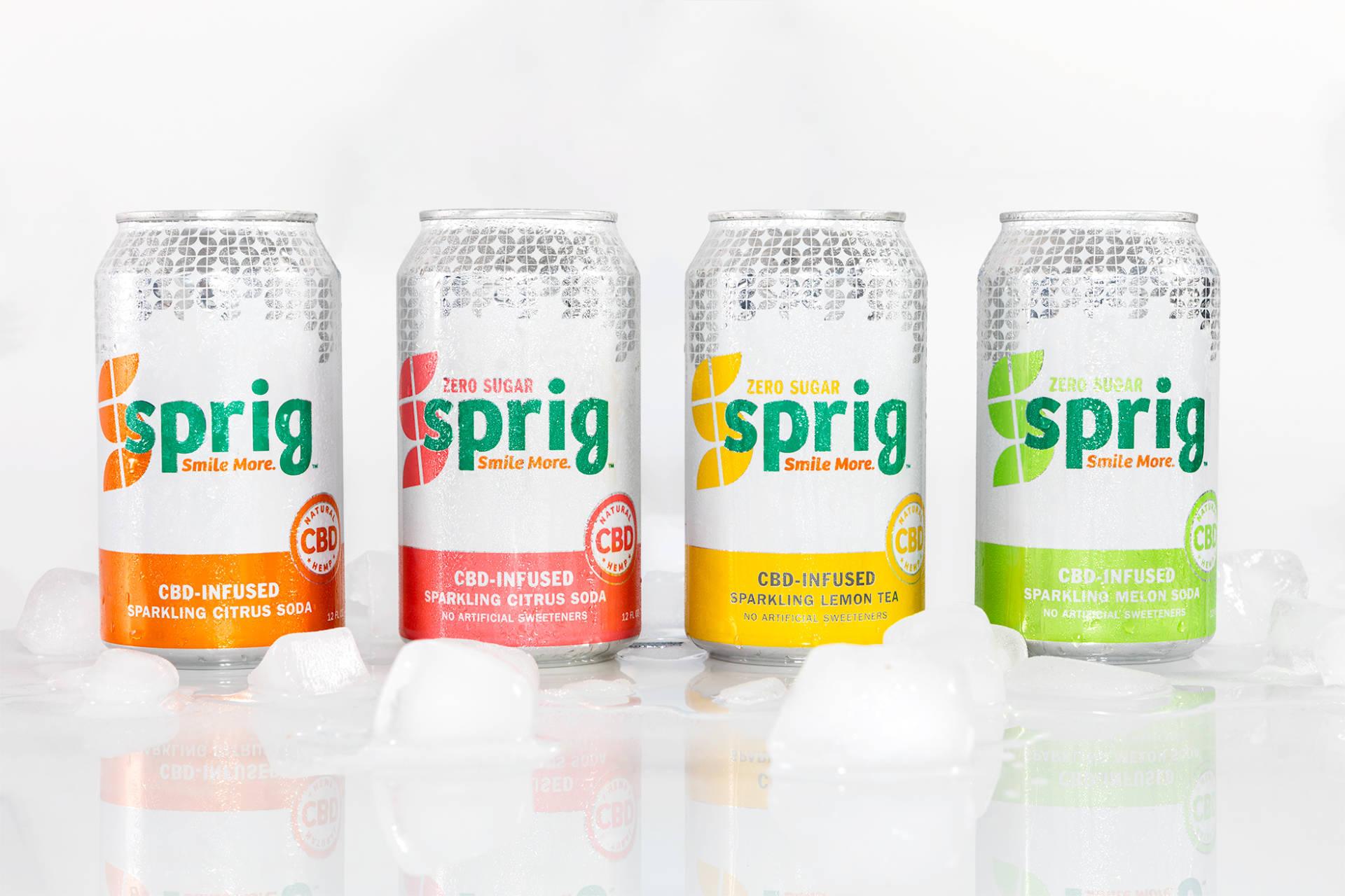 Sprig offers both THC-infused and CBD sodas in a can.